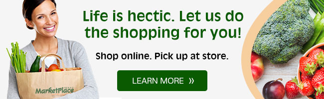 Shop online. Pick up at store.