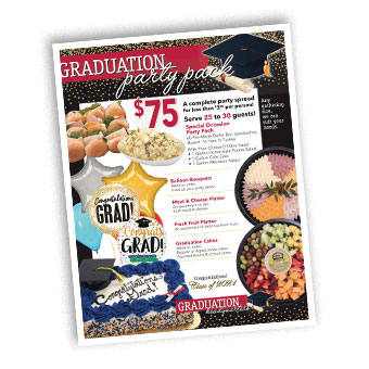 Graduation Party Pack Poster