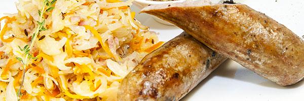 Smoked Sausage and Sauerkraut