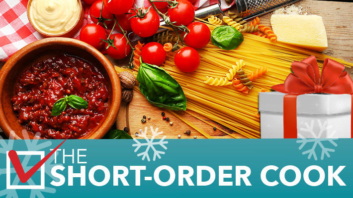 2020 TOP GIFT IDEA - The Short-Order Cook