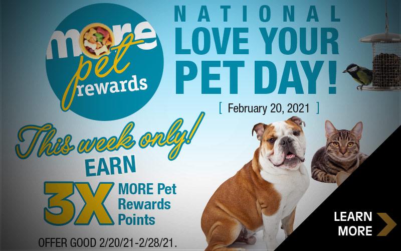 MORE Pet Rewards