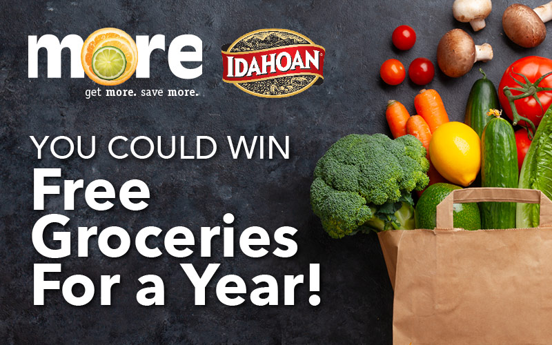 You could win FREE groceries for a year